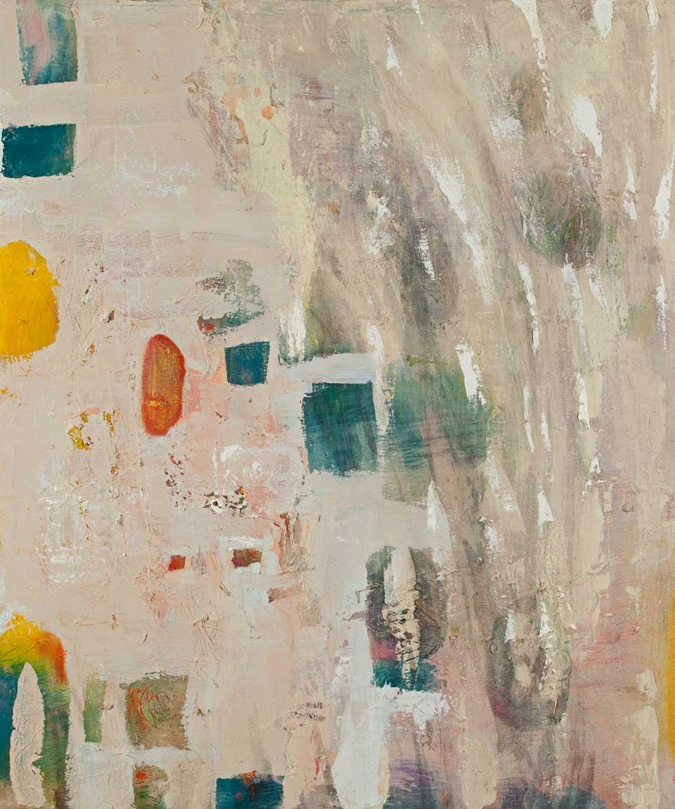 """Bukowski Poem - oil on canvas - 36"""" x 30"""""""