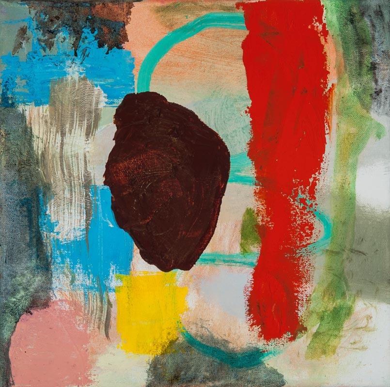 "Hyperion - oil on canvas - 13"" x 13"""