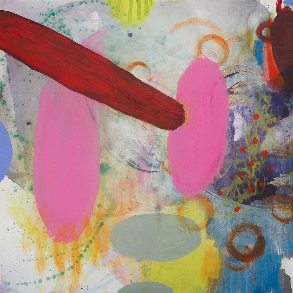 "The Last Buffalo - oil, acrylic, and mixed media on canvas - 48"" x 48"""