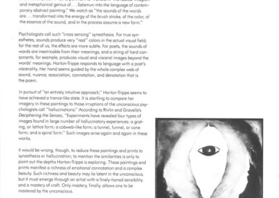 The Poem Paintings Essay by Jon Davis page 3