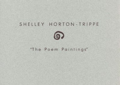 The Poem Paintings - Shelley Horton-Trippe